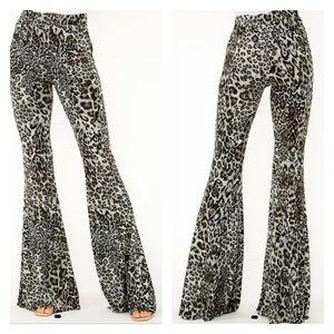 Super Flare Leopard Pants